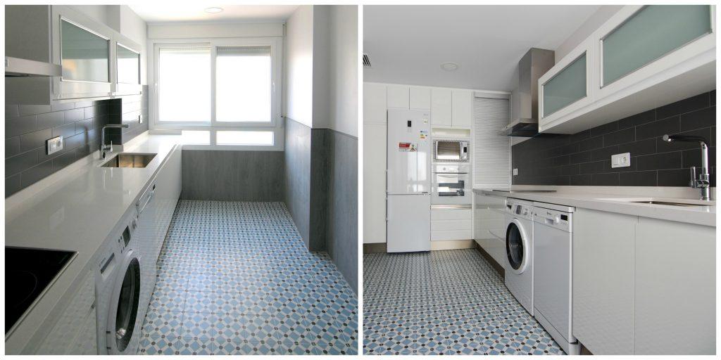 Pintar encimera de cocina fabulous muebles de cocina en for Pintar encimera cocina