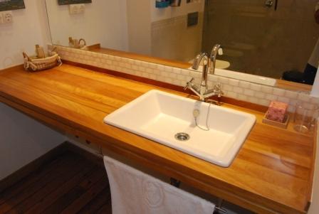 Encimera bano madera dise os arquitect nicos - Encimeras bano madera ...