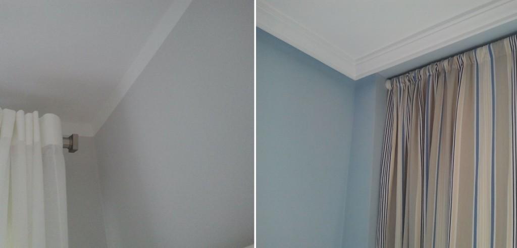 pintura lisa vs gotel e2interiorismo